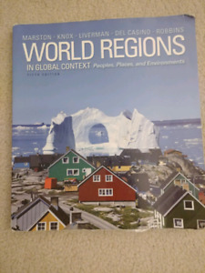 World Regions 5th edition geography textbook