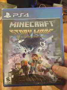 Minecraft Story Mode PS4 (Brand New)