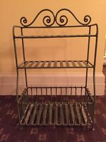 Wrought Iron Bathroom Rack