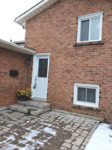 2 Bedroom Basement Apartment for Rent in Courtice!