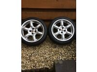 "MG TF 16"" Alloys with Tyres"