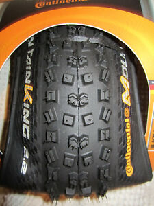 Continental 27.5 Tubeless Mountain Bike Tires / Pneu TLR