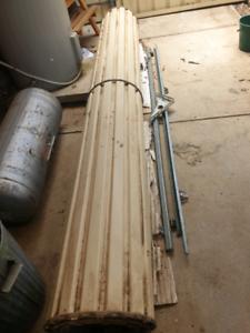 Roller Door Cream 2750 Length Building Materials