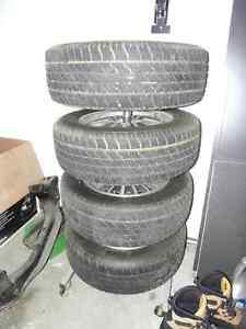 "14"" Aluminum Wheels - 4X114.3 - low offset London Ontario image 4"