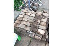 Used brick paving
