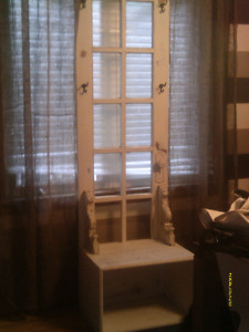 Handcrafted Hall Tree ~ great storage/organize jackets etc.