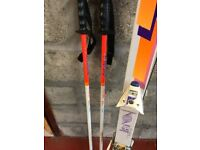 Ski and boots