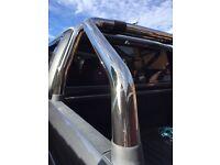 VW Amarok rear styling bars
