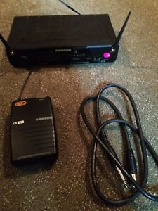 Samson wireless guitar/instrument receiver