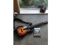 Guitar Hero 5, Band Hero and guitar for Xbox 360