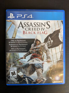 Assassin's Creed 4 IV Black Flag Playstation 4 PS4