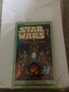 Star Wars Marvel Illustrated comic World of Fire