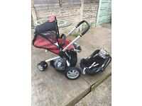 Quinny Buzz 3 with Maxi Cosi car seat