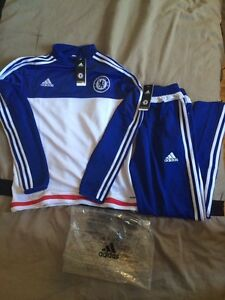 Soccer tracksuit chelsea adidas