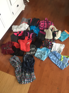 Girls Size 10/12 Clothing lot -Brands such as A&F, Justice,Nike+