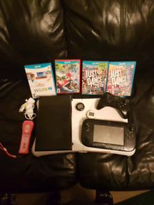 Nintendo Wii U Console PLUS Games, Wii Fit and more