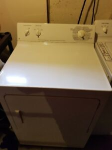Moffat commercial washer and GE commercial dryer