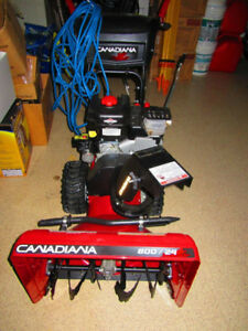 2 Stage Snowblower - Briggs & Stratton engine Canadiana brand