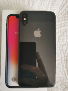 Selling my used iPhone X 64gb, unlocked and in perfect condition