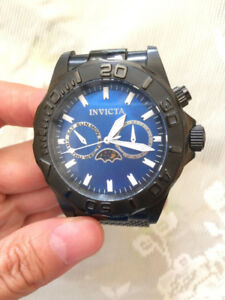 Treat yourself with this beautiful Black INVICTA MEN'S WATCH! XS