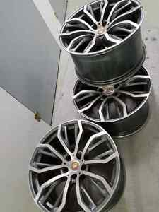 bmw x6 rims and winter tires only $1000