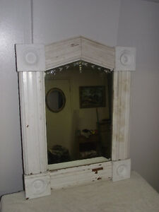 Rustic One-of-a-Kind Mirror