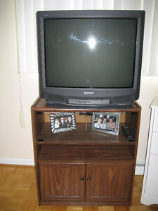 """TV Cabinet with 27"""" Television"""