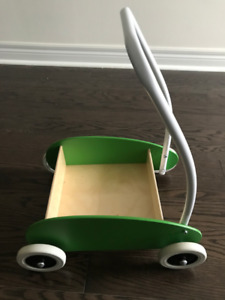 Toddle truck green, birch