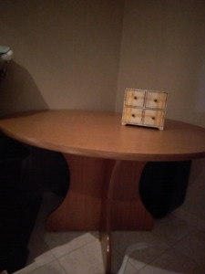 Round table.   Perfect for Poker or for Basement.