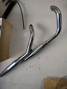 Honda vlx 600 shadow exhaust pipes