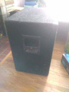 Peavy TKO 115 Bass amplifier and stage speaker London Ontario image 3