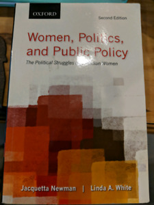 Women, politics, and public policy