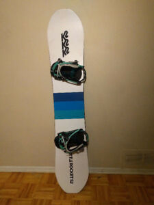 K2 Bottle Rocket With K2 Lien FS Bindings - Used Once