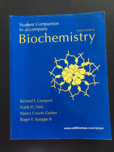 Biochemistry (Student Companion) - Richard I. Gumport - 6th edit