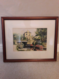 Hebden Bridge watercolour/print