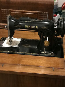 Singer sewing machine working and just serviced