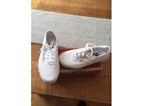 UK 4 Ladies White Vans Trainers Brand New