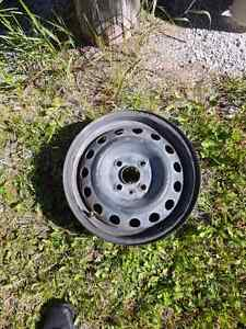 14in rims off Hyundai. 4 bolt pattern. $80obo.