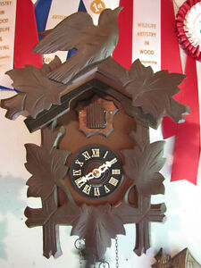 Cuckoo clock in mint, serviced condition!