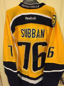 *** NEW - PK SUBBAN HOCKEY JERSEYS - NASHVILLE - CANADIENS