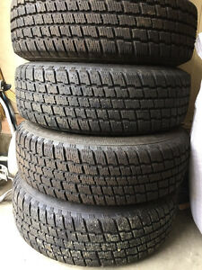 4 winter tires for sale Strathcona County Edmonton Area image 1