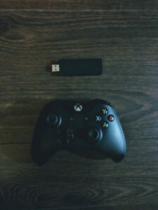 Xbox One Controller with Windows PC Adapter