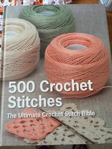 500 crochet stitches book Cambridge Kitchener Area image 1
