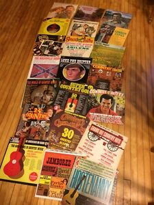 Country & western LPs 28 albums (31 LPs).