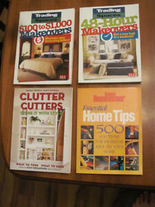 FOUR NEW HOUSEHOLD BOOKS