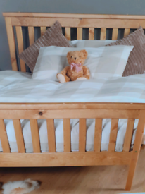 New standard double bed frame 4ft6