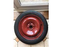 Space saver spare wheel tyre 4-stud R16