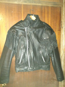 Screaming Eagle Leather Jacket Woman's Large