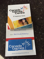 1 year Adult Annual Membership Canada Games Centre