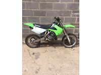 Kawasaki kx 85 2005 model just had full rebuild